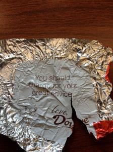 My fortune!